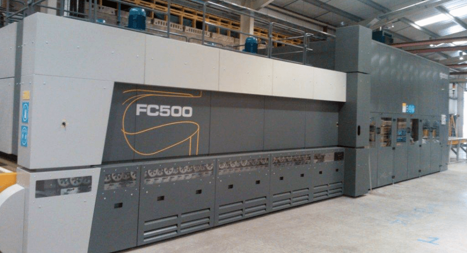 FC500 tempering furnace at Ravensby Glass UK