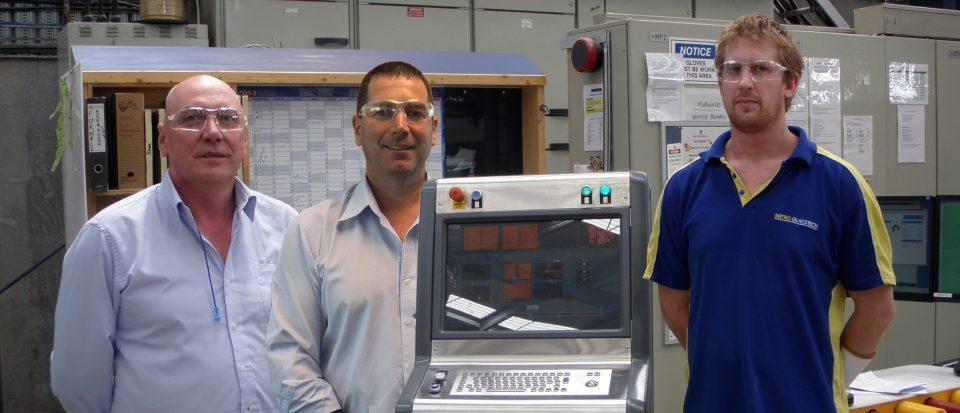upgrade de automação do icontrol na Metro Performance Glass, NZ