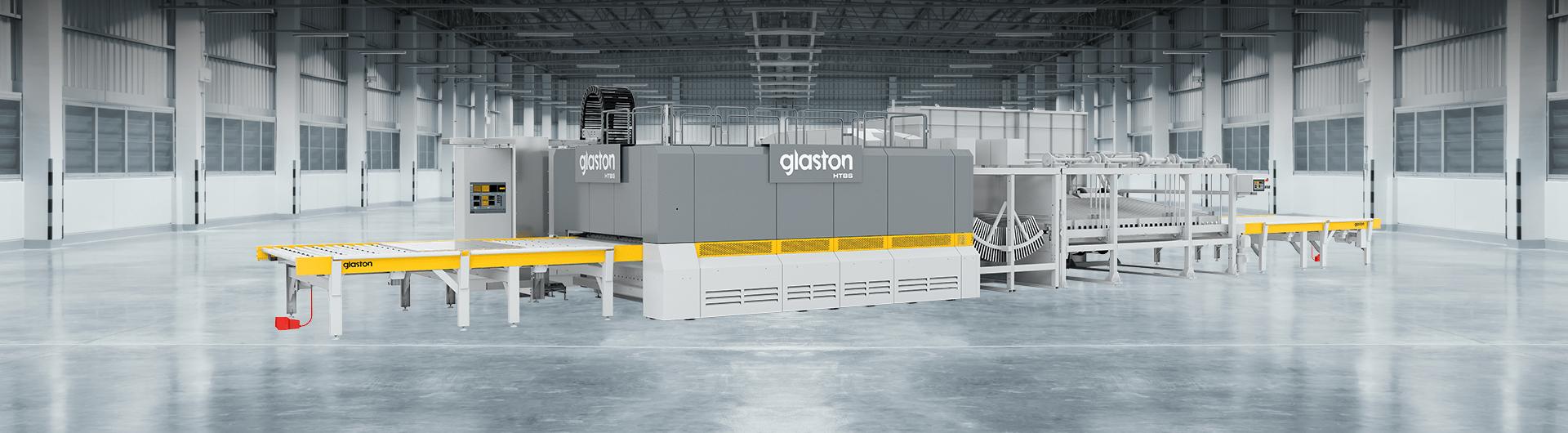 Glaston Horizontal Tempering & Bending System HTBS