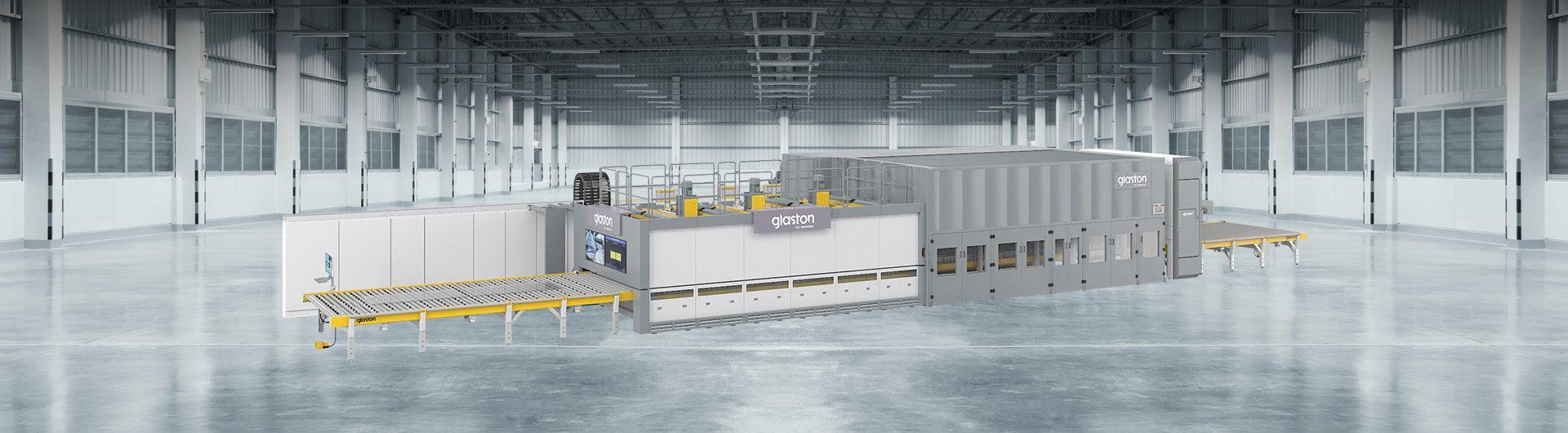 Glaston FC Series glass tempering line