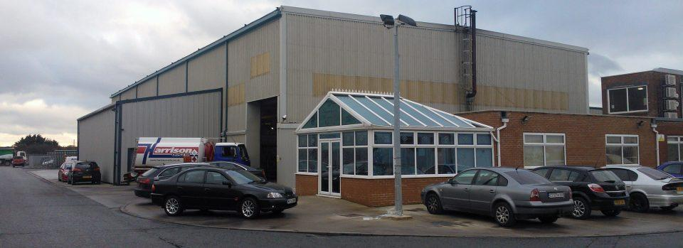 Forno de têmpera FC500 na Northern Express Glass Reino Unido