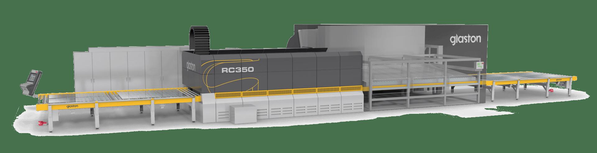 Glaston RC350 tempering furnace