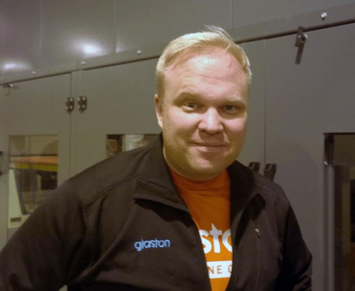Careers at Glaston Sami Kelin