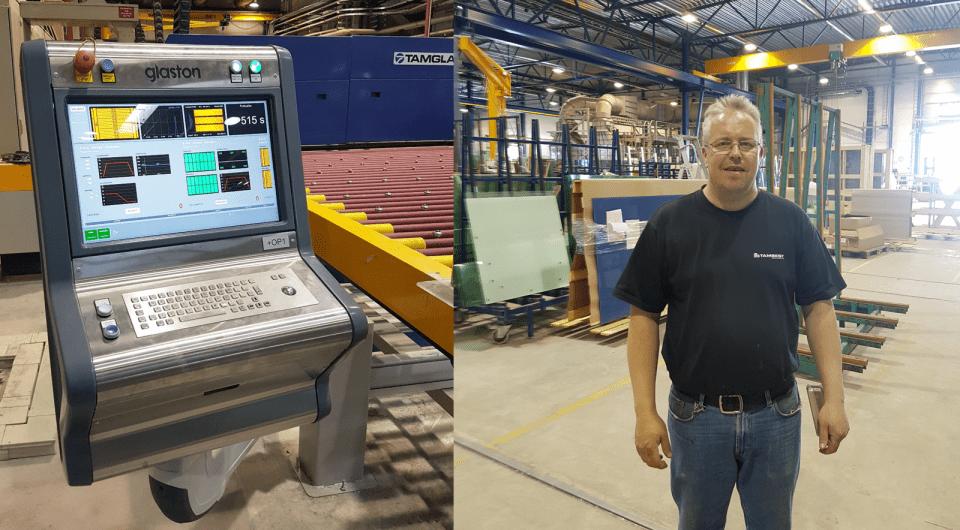 Upgrade do sistema de automação Glaston iControL na Tambest, Finlândia