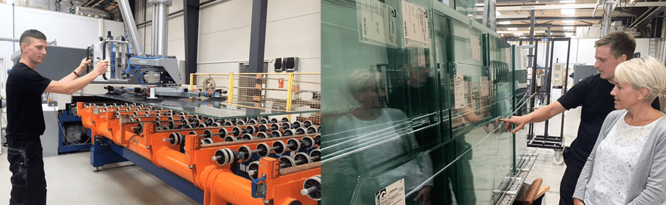 Glaston ProL flat glass laminating line upgrade at Glasexperten, Denmark