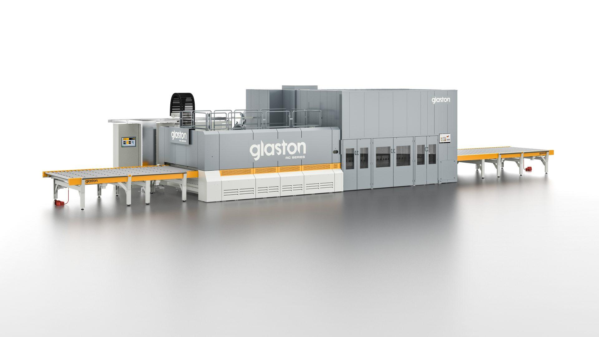 Glaston RC Series flat tempering line