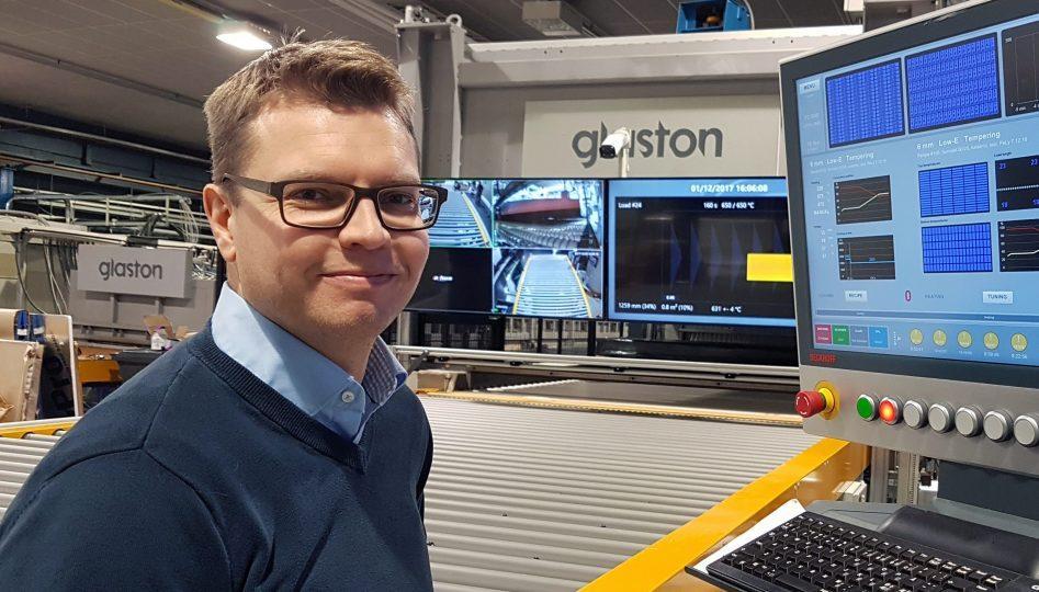 Kai Knuutila Digitalization Manager Glaston