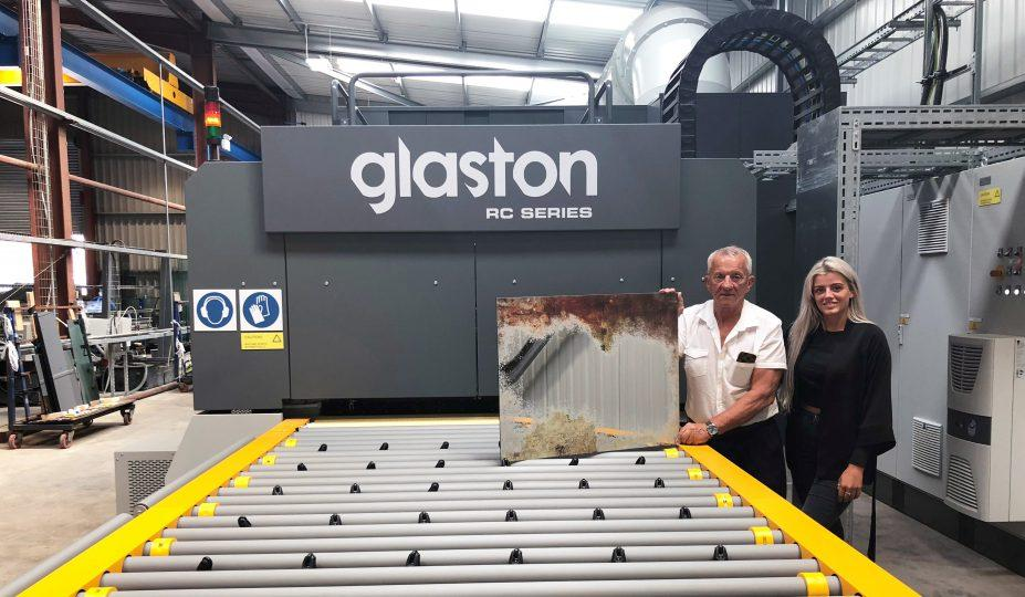 Glaston RC Series tempering furnace at Washington Art Glass